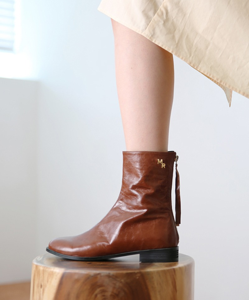 Jennet Simple MR Boots_ BROWN