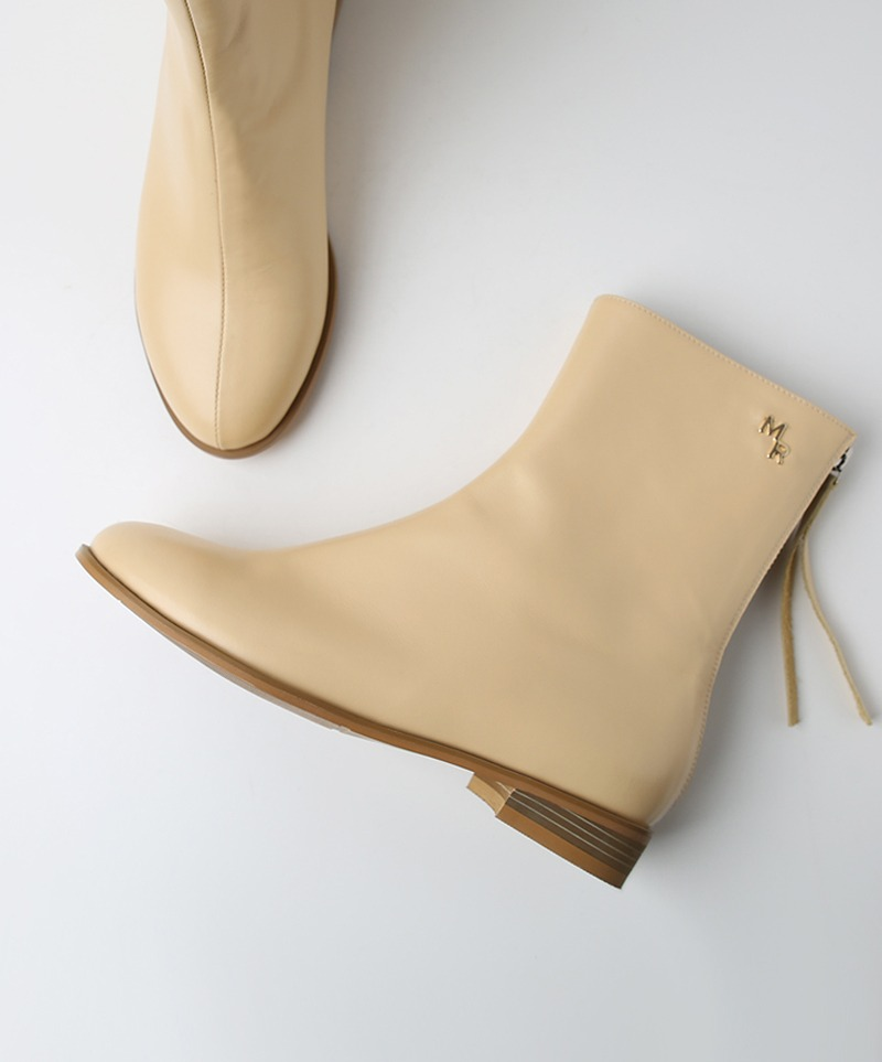 Jennet Simple MR Boots_ CREAM